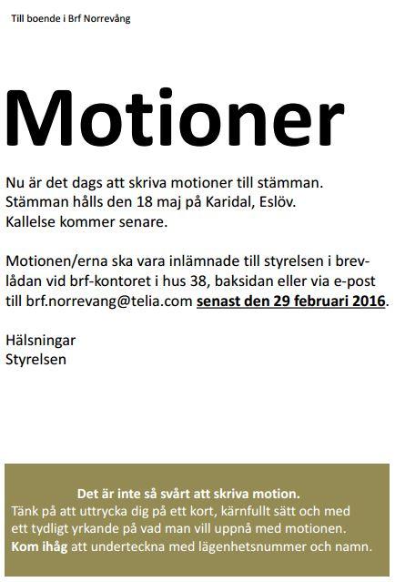 motioner